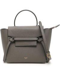 Céline Nano Belt Bag - Gray