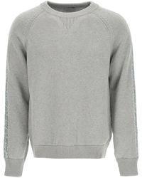 Dior Oblique Intarsia Jumper - Grey