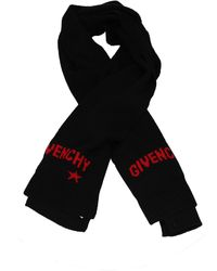 Givenchy Scarves Wool - Red