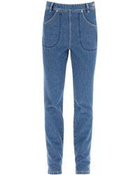 KENZO High-rise Jeans - Blue