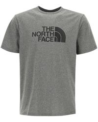 The North Face T-shirt With Logo Print - Grey