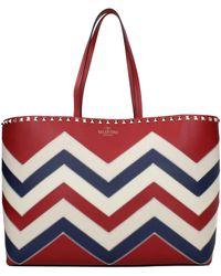 Valentino Garavani - Shoulder Bags Woman Red - Lyst