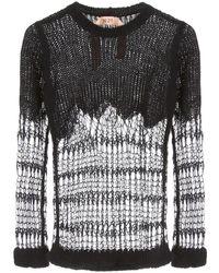 N°21 Wool Blend Pullover - Black