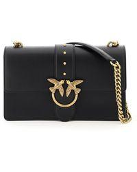 Pinko Love Classic Icon Simply 6 Bag - Black