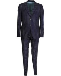 Gucci G-pattern Suit - Blue
