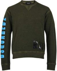 DSquared² Logo Sweatshirt - Green