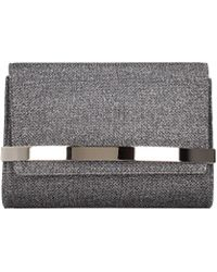 Jimmy Choo Clutches Bow Women Silver - Multicolour