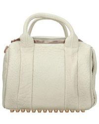 Alexander Wang Handbags Rockie Peeble - Natural