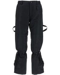 N°21 Cargo Trousers - Black