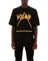 DSquared² Printed Triangle Logo T-shirt - Black