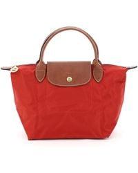 Longchamp Le Pliage Small Handbag - Red