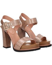 Tod's Sandals Leather - Pink