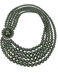 Miu Miu Green Necklaces