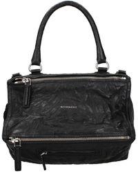 Givenchy Handbags Pandora Leather - Black