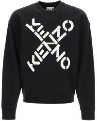 KENZO Sport Big X Sweatshirt - Black