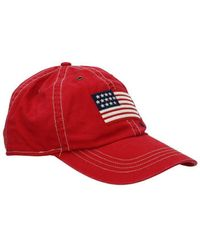 Ralph Lauren Logo Patch Cap - Red