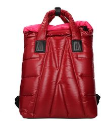 Moncler Backpacks And Bumbags Fabric - Red