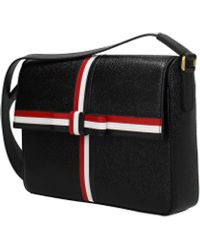 Thom Browne Black Crossbody Bag