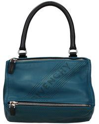 Givenchy Handbags Pandora Small Leather - Blue
