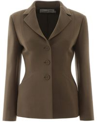 Dior Bar Single-breasted Jacket - Green