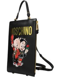 Moschino Black Backpacks And Bumbags Looney Tunes