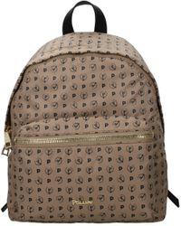 Pollini Backpacks And Bumbags Women Nylon Beige Black Beige - Natural