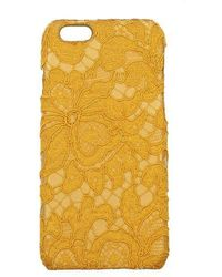 Dolce & Gabbana Iphone Cover Women Yellow