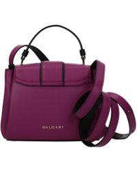 BVLGARI Violet Handbags - Multicolor