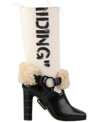 Off-White c/o Virgil Abloh - For Riding Low Boots - Lyst