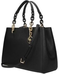 b402e9ff7b939c MICHAEL Michael Kors Cynthia Medium Convertible Satchel (light ...