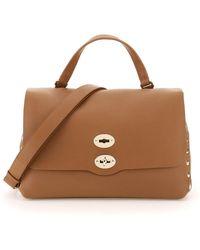 Zanellato Postina M Heritage Bag - Brown
