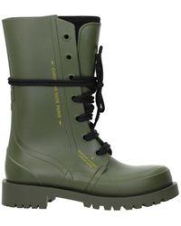 Dior Boots Women Green