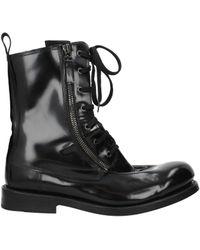 Balmain Ankle Boots Men Black