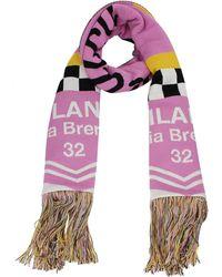 MSGM Scarves Wool - Pink