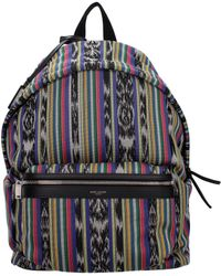 Saint Laurent Backpack And Bumbags Men Multicolour - Black