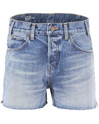 Celine Denim Shorts - Blue