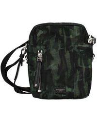 Dolce & Gabbana Crossbody Bag Man Green - Black