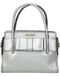 Miu Miu Handbags Women Silver - Multicolor