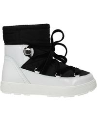 Moncler Ankle Boots Stephanie Fabric - Black