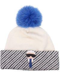 Fendi White Hats Karlito