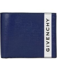 Givenchy Blue Wallets