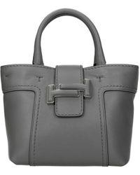 Tod's Handbags Leather - Grey