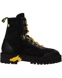 Off-White c/o Virgil Abloh Ankle Boot Men Black
