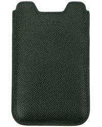 Bally Selfphone Cover Leather - Green