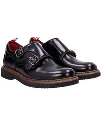Green George - Lace Up And Monkstrap Women Black - Lyst