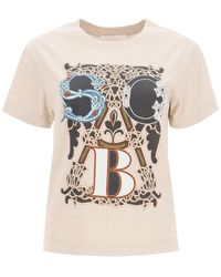 See By Chloé T-shirt With Logo Print - Multicolour