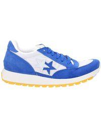2Star Sneakers Men Suede Blue Blue