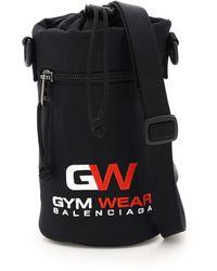 Balenciaga Weekend Gym Wear Bottle Bag - Black