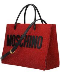 Moschino Red Handbags