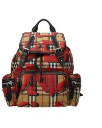 Burberry Backpacks And Bumbags Woman Beige - Multicolour